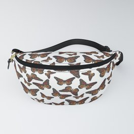 Mystical monarch butterfly Fanny Pack
