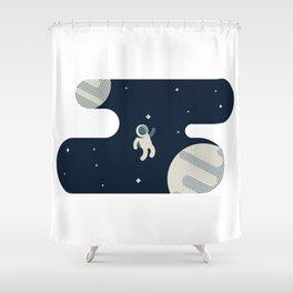 The Astronaut Shower Curtain