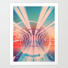 Transporter Art Print