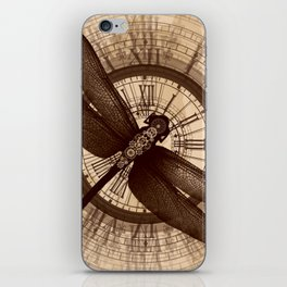 Steampunk - Mechanical Dragonfly iPhone Skin