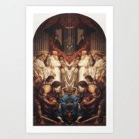 roman Art Prints featuring ROMAN by Mark Robinson