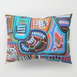 Pueblo Art Pillow Sham