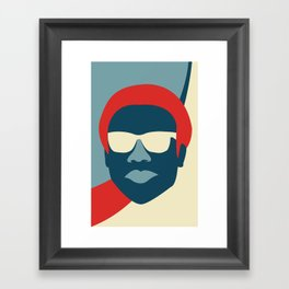 Donald Framed Art Print