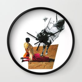 Face to face Wall Clock