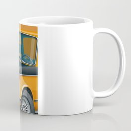 BMW 2002 ti Alpine from 1968 Coffee Mug