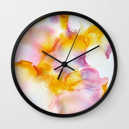 Dreams Fading In And Out Wall Clock