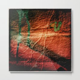 Texture abstraction Metal Print
