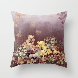 Fading in to Fall Throw Pillow