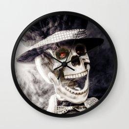 The Dapper Skeleton Wall Clock