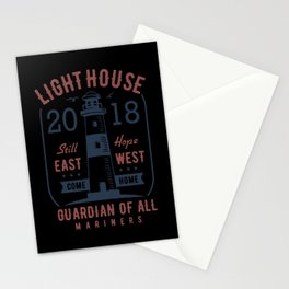 light house guardiam of all mariners Stationery Cards