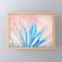 Agave Azul Framed Mini Art Print
