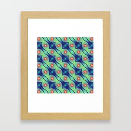 The Nuclei - Colorway 1 Framed Art Print
