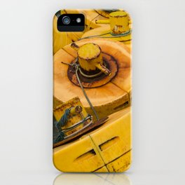 Yellow gathering iPhone Case