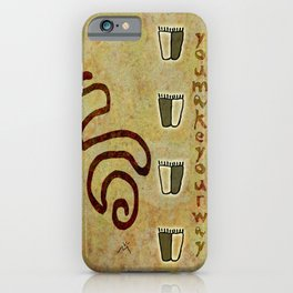 You make your way iPhone Case
