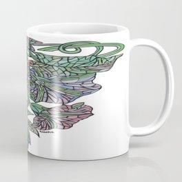 Art Nouveau Morning Glory Isolated Coffee Mug
