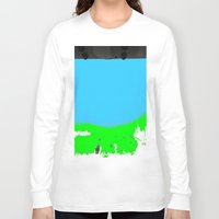 lonely Long Sleeve T-shirts featuring Lonely by lookiz