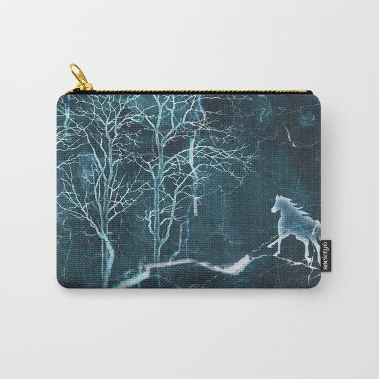 Marble Scenery Carry-All Pouch