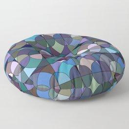 Moody Circles Floor Pillow