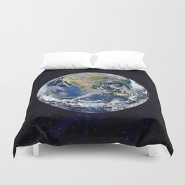 The Earth Duvet Cover