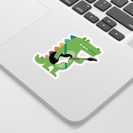 Croco Rock Sticker