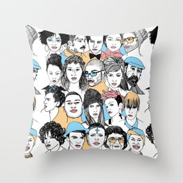 We All. Throw Pillow