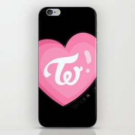 Twice what is love iPhone Skin