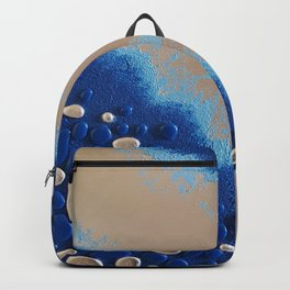 Iridescent Pebbles Backpack