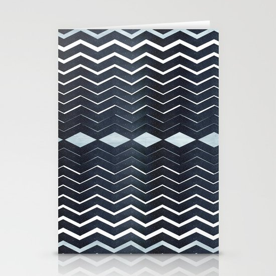 ELEGANT IN BLUE Stationery Cards