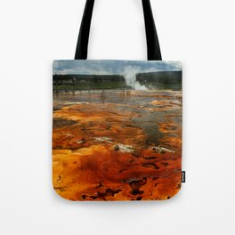 Awesome Geyser Colors Tote Bag