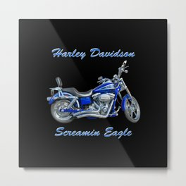 Harley Screamin Eagle Dyna Lowrider FXDSE 110 Metal Print