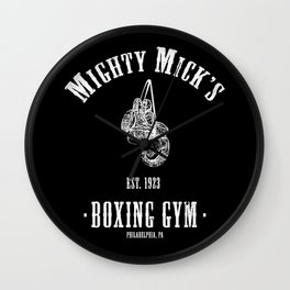 Mighty Micks Boxing Gym Wall Clock