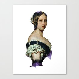 Queen Vicky Canvas Print
