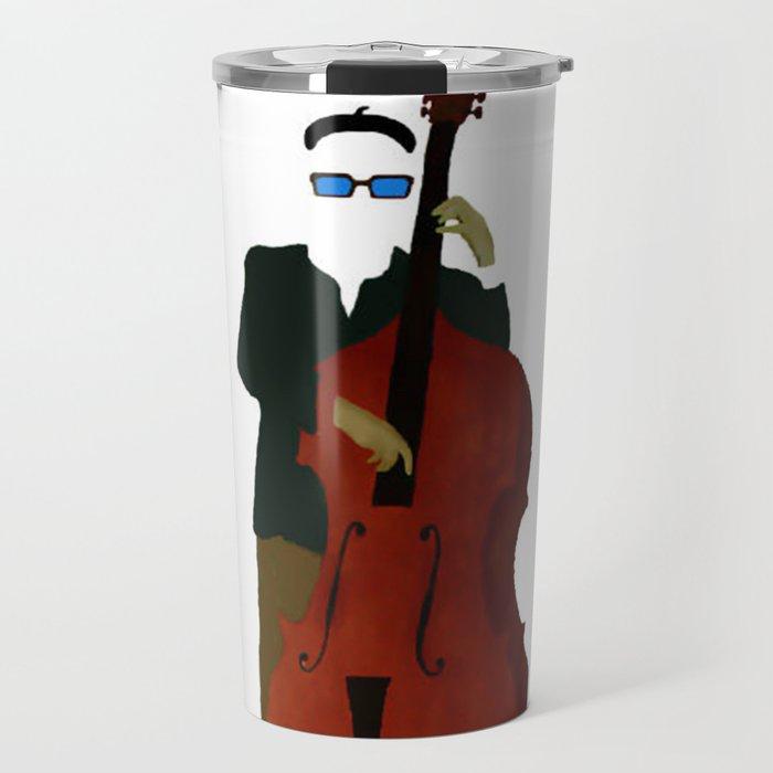 Bottom - A Celebration of the Bass Travel Mug