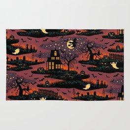 Halloween Night - Bonfire Glow Rug