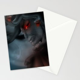 Medusa's Lament, the Eye of the Gorgon Stationery Cards
