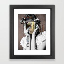 Crazy Woman - Lara Lisa Bella Framed Art Print