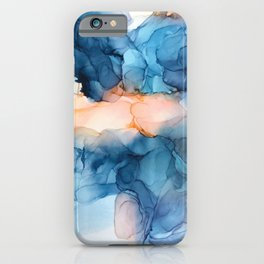 Captivate- Alcohol Ink Painting iPhone Case