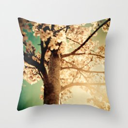 Rays of sunshine, brings you hope & joy for your everyday!! Throw Pillow