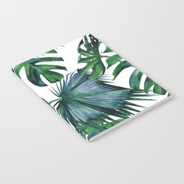 Tropical Palm Leaves Classic II Notebook