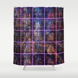 """""""Doors of All Hallows Eve"""" by surrealpete Shower Curtain"""