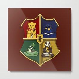 Magical Crest Metal Print