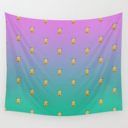 A thousand sitting dogs Wall Tapestry