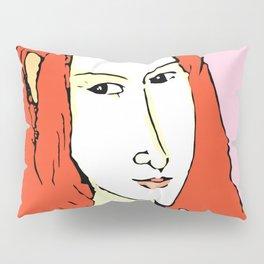 Porträt der Jeanne Hébuterne Pillow Sham