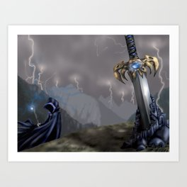 Rising Prophecy Art Print