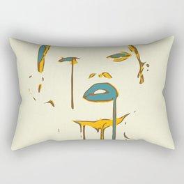Dripping Glam Rectangular Pillow
