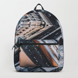 USA Photography - Chicago From Bird Perspective Backpack