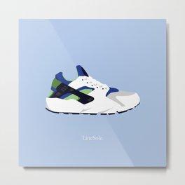 """Nike Air Huarache """"Scream Green"""" OG Metal Print"""
