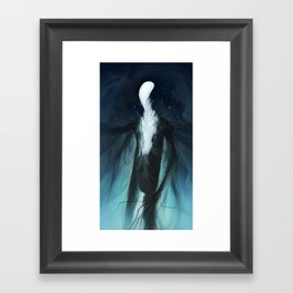 Slender Framed Art Print