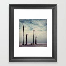 Salton Sea, California Framed Art Print