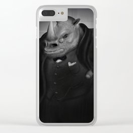 The Roaring Lion Clear iPhone Case